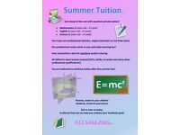 Maths, Science and English tutor - private tuition for GCSEs and A-Levels etc