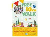 FIGHT MOUTH CANCER and join in the 11th annual FREE Mouth Cancer Foundation 10KM Awareness Walk