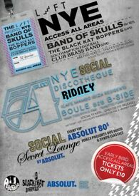 AAA NYE (The Loft & The Social) - 8 til late ★ 3 areas of entertainment ★ 1 Ticket