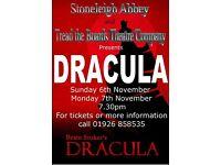 Stoneleigh Abbey and Tread the Boards Theatre Company presents Dracula