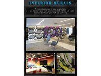 Professional mural graffiti artist