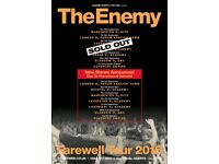 4x The Enemy tickets, The Empire Coventry, Saturday 8th October 2016