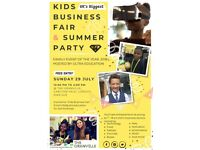 Volunteer Photographer - Kilburn Kids Business Fair - 29 Jul