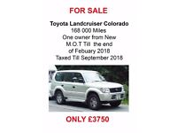 Toyota Landcruiser Colorado / ONE OWNER