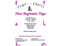 Beginners 6 Week Yoga Course - Belsize Park