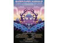 Super Furry Animals ticket - Roundhouse Friday 9th December