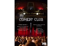 The Richmond Comedy Club Brighton Free every wed. @7:30pm