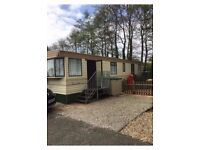 32 FT STATIC CARAVAN FOR SALE INCLUDING GROUND RENT TILL 2018 AND ALL ACCESSORIES