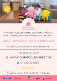 Professional House Cleaning + Oven, Windows, Fridge, Ironing, Sorting Cupboards and much more!
