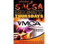 West Bromwich Salsa Classe (thursday)
