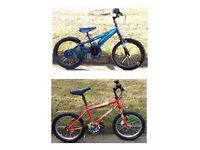 "British Eagle Scorch & Skylander Giants 16"" Bikes"