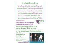 Adult Drama Group. Only £5.