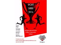 Sports Dinner in Support of Ronald McDonald House, Glasgow