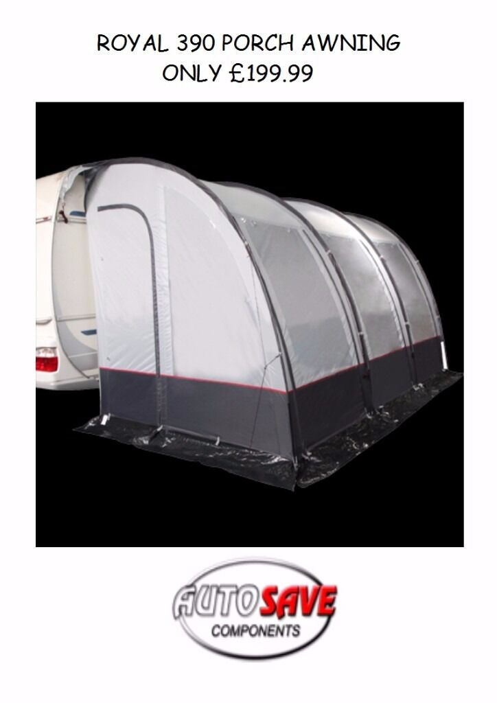 CARAVAN ROYAL PORCH AWNING 390 ** BRAND NEW ** | in Dundee ...