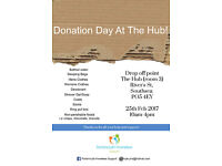 Portsmouth Homeless Support Donation Day!