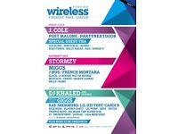 Saturday wireless ticket for sale! £125