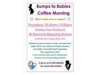 Bumps to babies Coffee Morning - Derwent Area