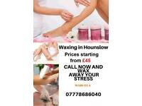 Waxing Beauty Treatment Male Female