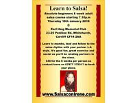 8 week absolute beginners salsa course