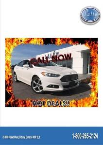 2014 Ford Fusion SE, Nav, One Owner, Local Trade!