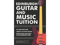 Private Guitar and Music Tuition Available in Edinburgh and the Surrounding Area