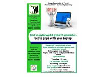 Get to Grips with your Laptop - Computer Class in Abergavenny