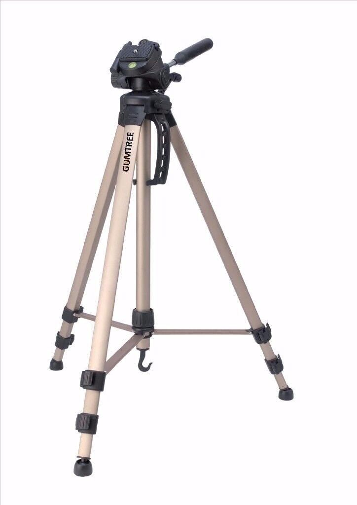 Tripod Pan & Tilt 163 cm Bronze Cameras Camcorders Phones TV WALL BRACKET IPHONE PC NEW SKY