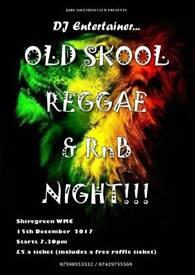 Reggae chiarty night
