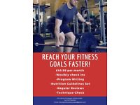 Personal Trainer and Online Coach- As Little as £49.99 on your fist month
