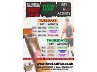 Community Art and Activities hub Ballymena