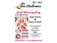 Teeth Whitening Party in your own home or place of work