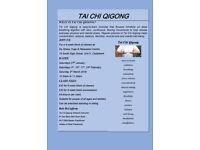 TAI CHI QIGONG 6-WEEK BLOCK OF CLASSES