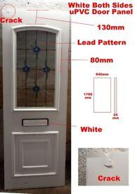 White PVC Door Panel 645x1790