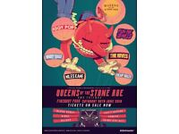 2 tickets for Queens of the Stone Age, June 30th Finsbury Park