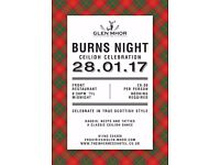 Robert Burns Charity Ceilidh Night - 28th January 2017