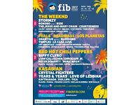 Benicassim festival with camping ticket £180