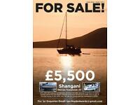 25ft sailing boat
