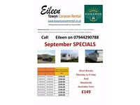 Edwards Leisure Park - Towyn Caravans to rent