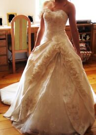 Wedding dress, flower decorations ONLY £400