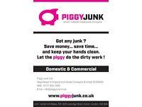 Same Day Rubbish Removal - Skip Hire Alternative - Piggy Junk Ltd - Mob: 07773001200