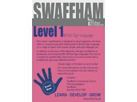 British Sign Language Level One