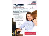 Volunteer Caseworker - Worcestershire/Worcester/Droitwich/Malvern/Evesham/Pershore - RAF Association