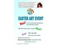 EASTER ART EVENT IN HORSFORTH - 2 DAY CLUB FOR YOUNG PEOPLE
