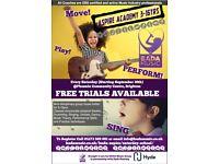 FREE TRIAL: ASPIRE Saturday Music School 3-16yrs