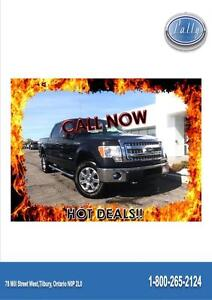 2013 Ford F-150 XLT, One Owner, 4x4, Local Trade!