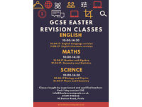 GCSE - Easter Revision Days