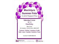 MacIntyre Summer Fete - 2 June