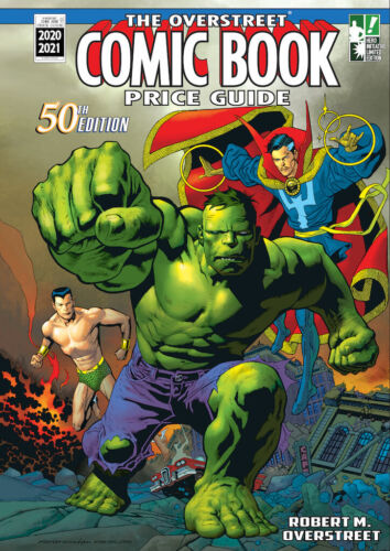 OVERSTREET COMIC PRICE GUIDE #50: KEVIN NOWLAN HERO INITIATIVE EXCLUSIVE unwrap