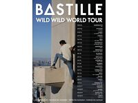 4 x Bastille standing tickets, Manchester Arena, Sunday 6th November