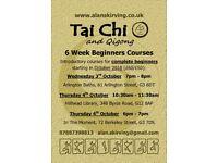 Tai Chi & Qigong Beginners Course